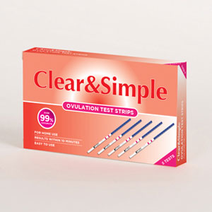 Ovulation Strip Test   Clear & Simple